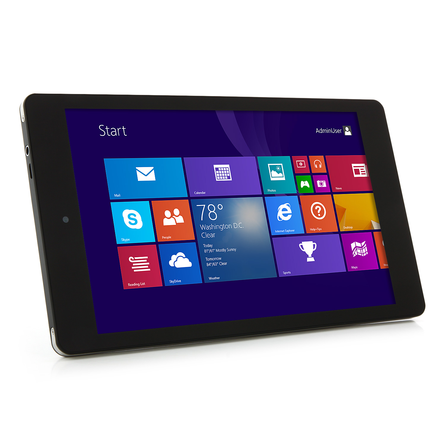 CHUWI VX8 3G Tablet PC Intel 3735F Quad Core 8.0 Inch Windows 8.1 IPS Screen 16GB Black