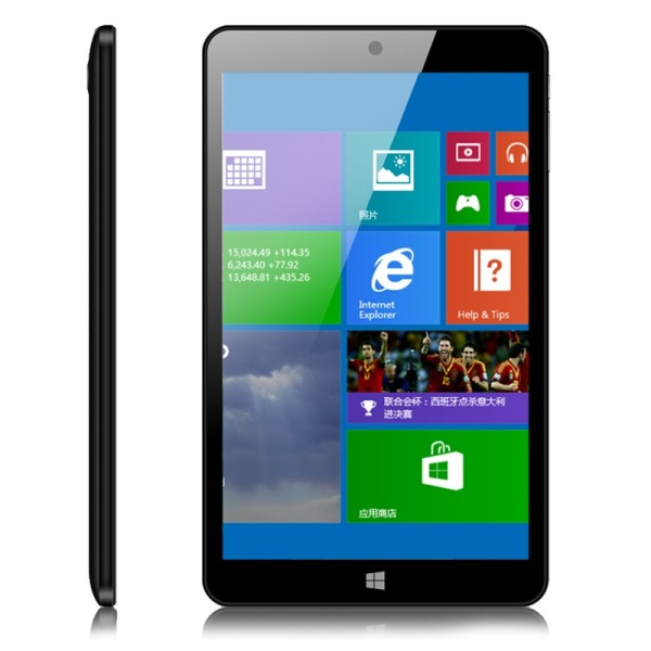 Ployer MOMO8W Tablet PC Intel Z3735 Quad Core 8.0 Inch Windows 8.1 IPS 1GB 16GB Black