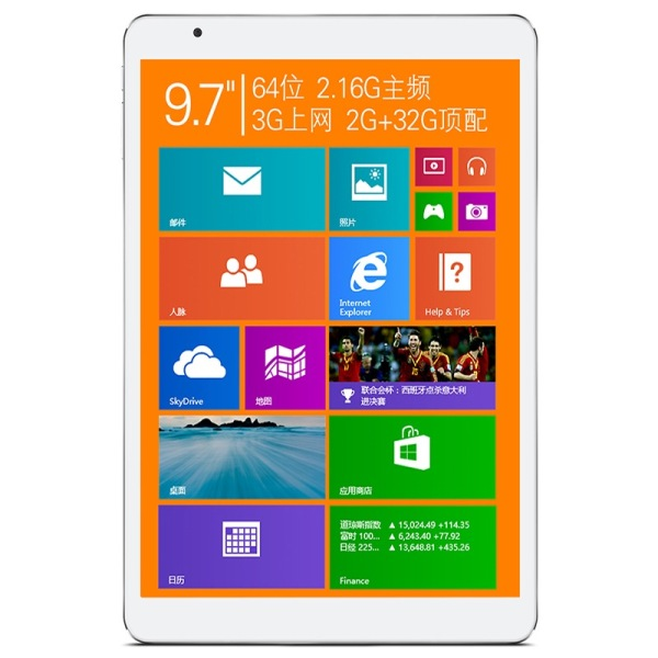 "Teclast X98 Air 3G Tablet PC Windows 8.1 Intel Z3736F Quad Core 9.7"" Retina 2GB 32GB"