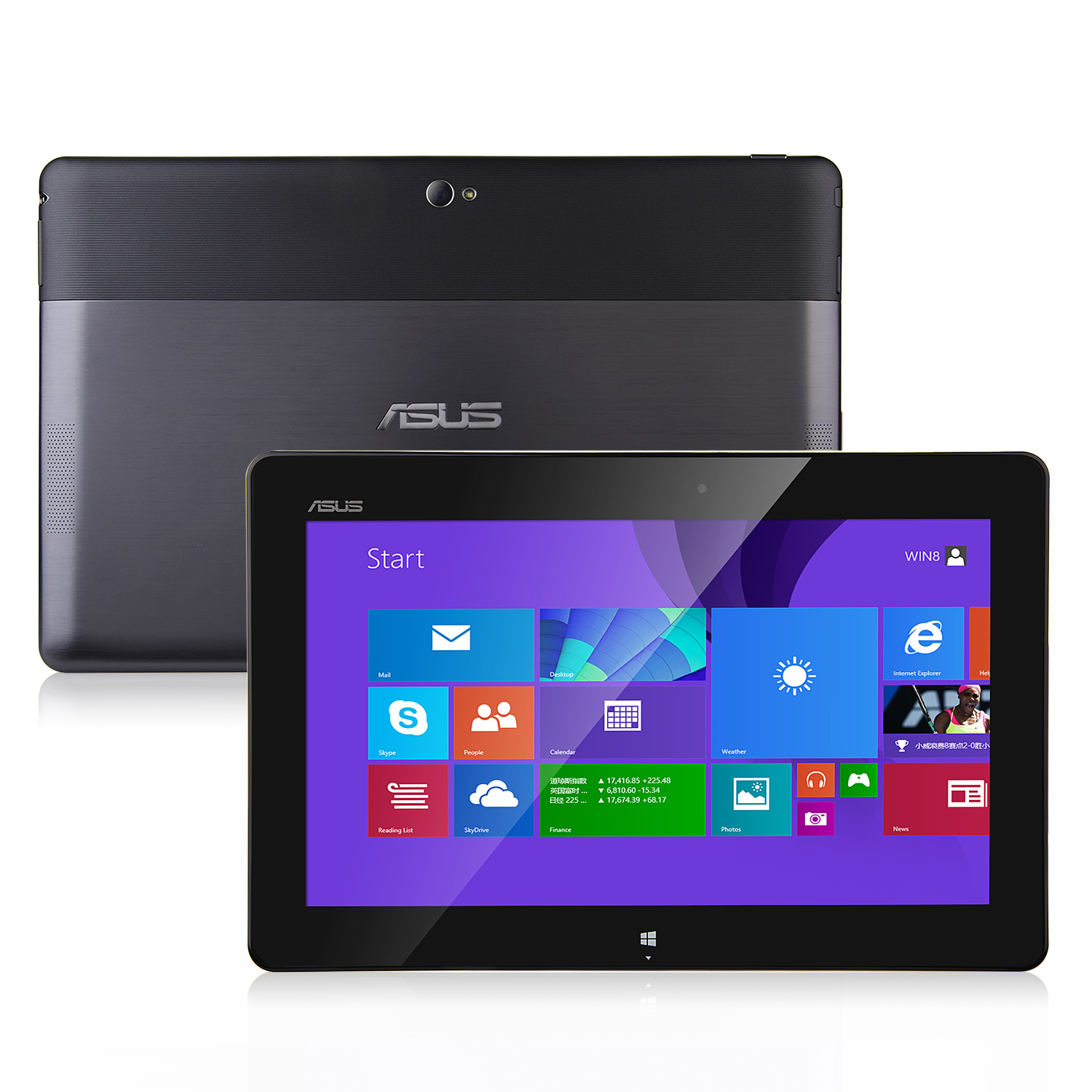 "ASUS VivoTab RT TF600T Tablet PC Windows RT NVIDIA Tegra 3 10.1"" IPS 2GB 32GB Gray"