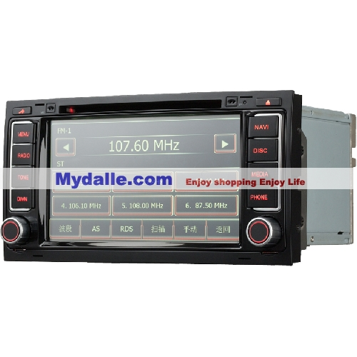 7 Inch Car autoradio gps navigation system player Special Car dvd for Toureg 4GBTF card free Map inside