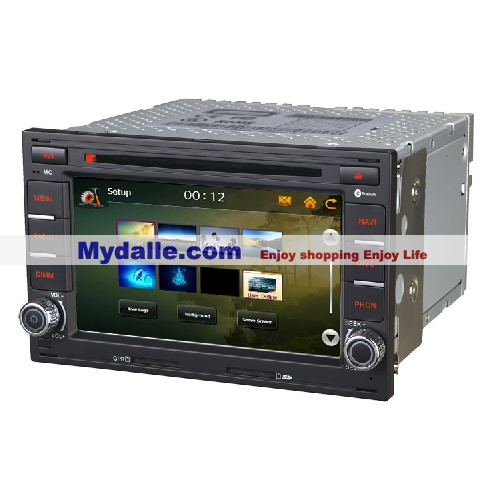 6.5 inch  Car autoradio gps navigation system player Car dvd for VW/Skoda/Passt/Tiguan bus support