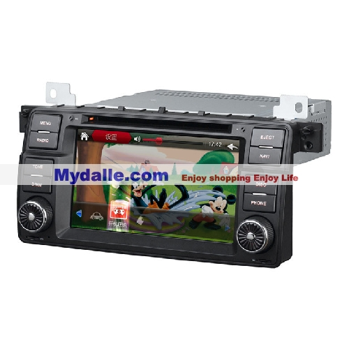 7 inch Car autoradio gps navigation system player Special Car dvd for BMW E46 BMW 3 Series