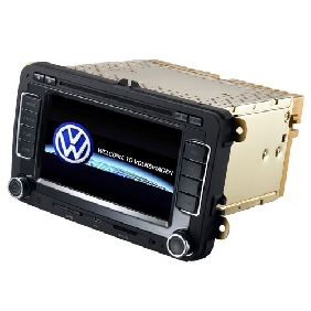 Car GPS tracker dvd for VW Golf /Passt /Jetta/Tiguan/Touran/T5/EOS/Seat/New Beetle.with dvd/bluetooth/radio function