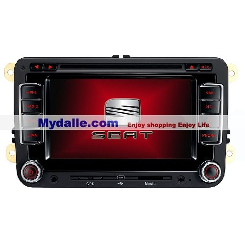 Gold Edition AS7608-V4-6.2 inch Digital panel Car DVD Player with GPS 4 GB TF card free(Europen Map included)