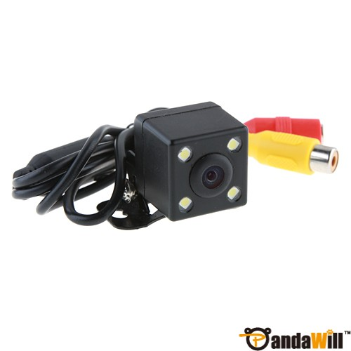 4 LED Waterproof Color CMD Rear View Backup Camera E314 discount