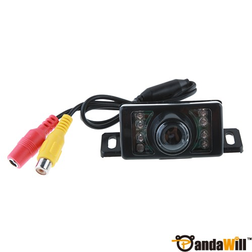 7 LED Waterproof Color CMOS/CCD Car Rear View Reverse Backup Camera E350 out let
