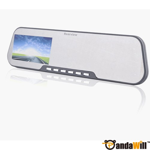 "X888B 2.7"" LCD 140° Wide-angle HD Rearview Mirror Car Camera DVR Fast shipping"