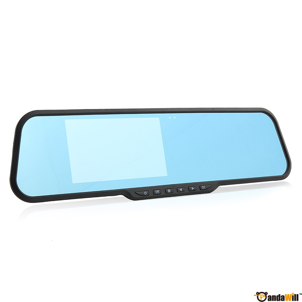 F9 4.3 Inch 140°Wide-angle 1080FHD Rearview Mirror Blue Mirror G-Sensor wholesale