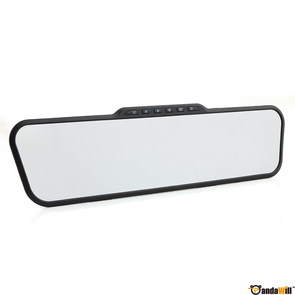 F9 2.7 Inch 140° Wide-angle 1080FHD Rearview Mirror Black Mirror G-Sensor out let