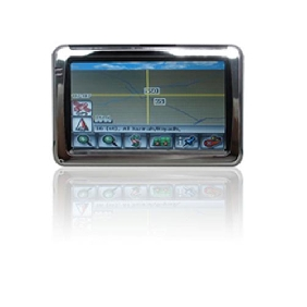 4.3 inch TFT touch screen Car GPS