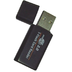 MINI USB2.0 TF Card reader,High speed T-FlashCard Reader