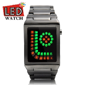 Christams Gift -Anti Grinch Creative LED Watch