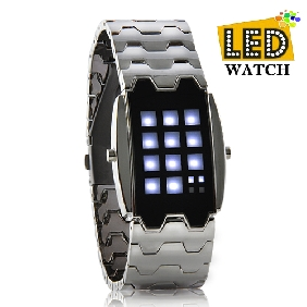 Christams Gift -MechX Japanese Inspired White LED Watch