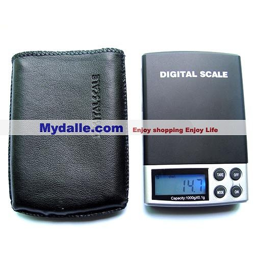Digital pocket scale 1000g x 0.1g