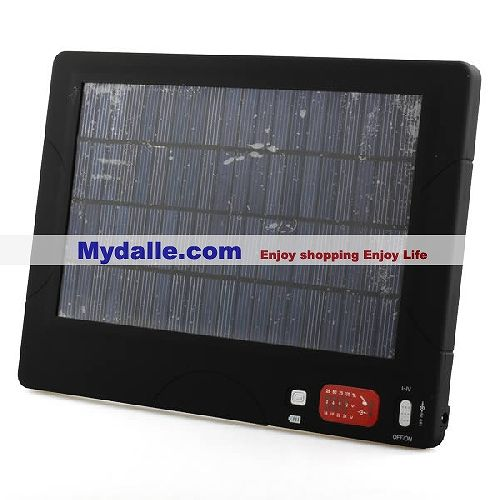 20000mAh Multi-Purpose Solar Charger, 3-24 Voltage Output, a Great Many of Tips