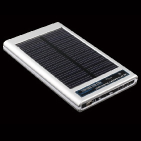 Solar Charger - Fits for MP4, Mobile Phone - Fashion Design
