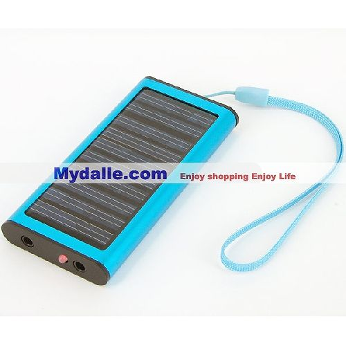Solar Charger - 1350mAh - Fit Bluetooth Devices - Cell Phone - Digital Camera - MP3/MP4 Player and PDA