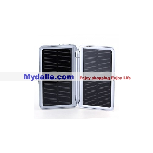 Portable Solar Charger - 1200mAh - FM Radio - Fit for Mobile Phone, Digital Camera, PDA, MP3 and MP4 Player
