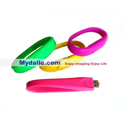 4GB Bracelet Wrist Band USB Drive Flash Memory Stick