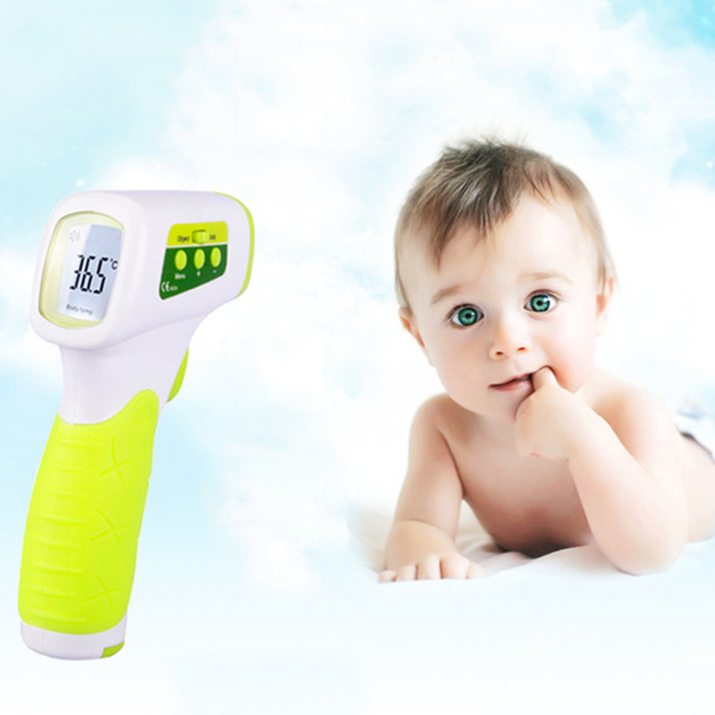 Digital Thermometer Infrared Baby Adult Non-contact Infrared Home Ear Thermometer Electronic Thermometer With LCD Backlight