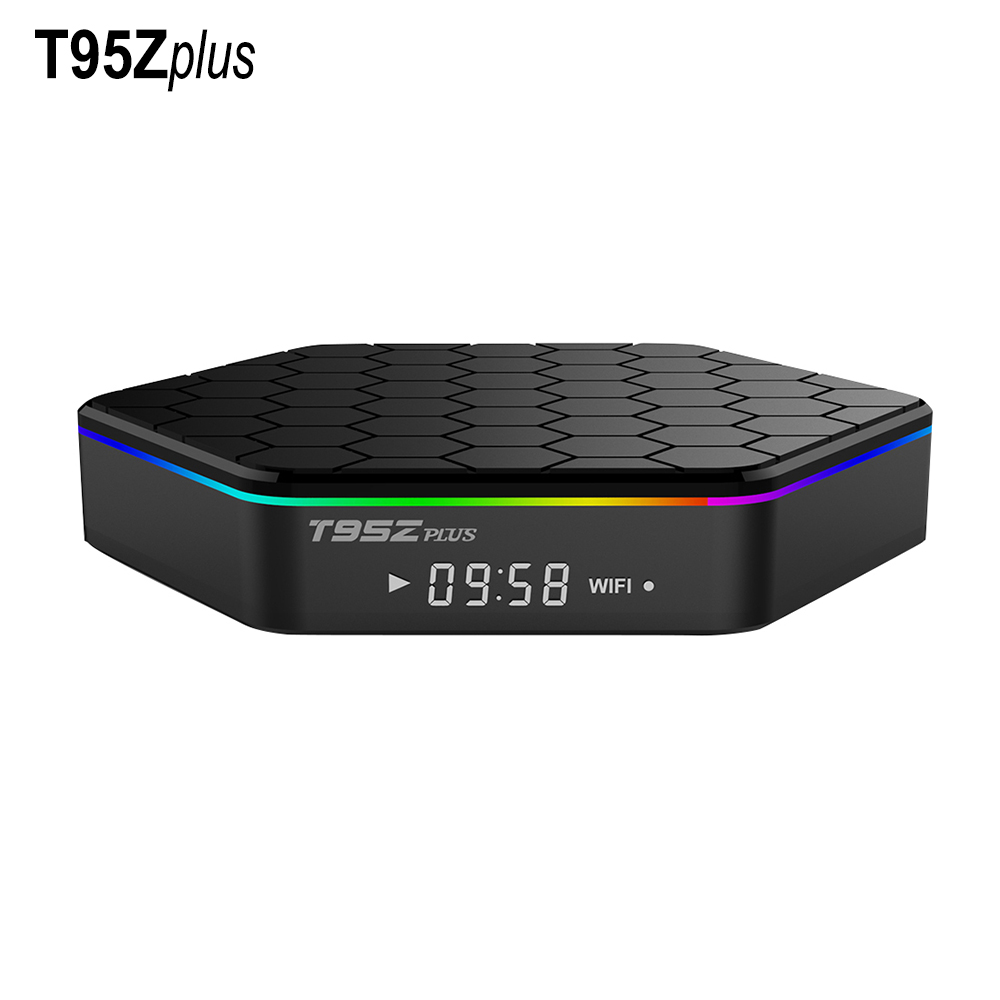 T95ZPLUS Octa Core Android IPTV BOX S912 2GB/16GB Android TV KODI WIFI H.265 Media Player